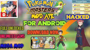 Download #PokemonMastersEx Mod APK on #Android   Unlimited Gems   MEGA MOD