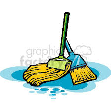 mops and brooms. Mop-broom Mops And Brooms I