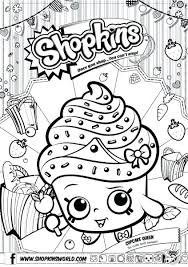 Shopkin Coloring Pages Season 7 Poppy Corn Coloring Page Coloring