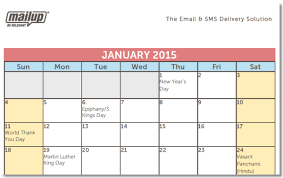 2015 calendar template a 2015 editorial calendar template for savvy email marketers