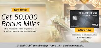 50 000 chase united club card offer is
