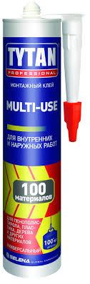 <b>Жидкие гвозди TYTAN</b> Professional <b>Multi</b>-<b>use</b> SBS100 бежевый ...