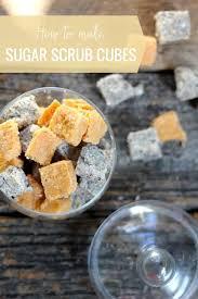 how to make sugar scrub cubes helloglow co