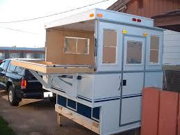 image of slide in diy truck camper
