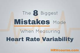 Heart Rate Variability Chart The 8 Biggest Mistakes Made When Measuring Heart Rate