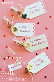 diy valentines day gifts for him handmade message in a bottle valentines cool and