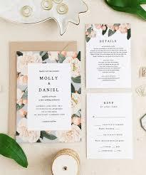 Wedding Invitatiins Best Etsy Wedding Invites Stationery Invitations Design