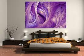 1 piece canvas art print bedroom art modern canvas wall art abstract green on purple and green canvas wall art with 1 piece purple abstract large pictures