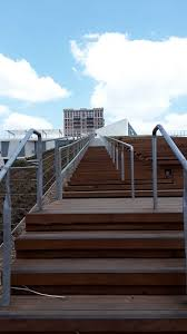 houston museum of fine arts roof top garden stairs travelingwashington s
