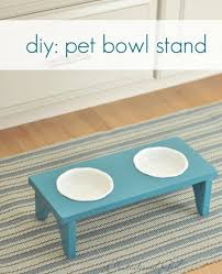 diy pet bowls and feeding stations diy pet bowl stand easy ideas for serving