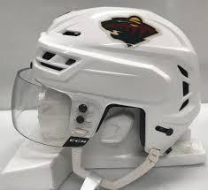 Ccm Resistance Pro Stock White Hockey Helmet Small Ccm Visor Ahl 23386