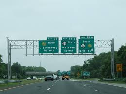 exit 36 joins interstate 195 east with the garden state parkway north directly in 0 75 miles photo taken by carter buchanan 06 30 05