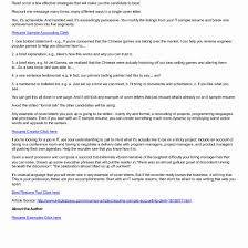International Recruiter Sample Resume 24 Sample Resume For Accounts Receivable Melvillehighschool 18