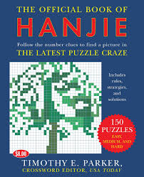 the official book of hanjie 150 puzzles follow the number clues to find a picture amazon de timothy e parker fremdsprachige bücher
