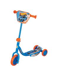"<b>Самокат Hot wheels</b> 3-хкол. EVA 6""/4"", декор.панель 1Toy ..."