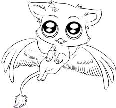 Cute Animals Coloring Pages Free Coloring Pages Of Cute Animals