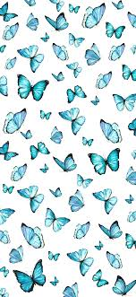 Blue Butterfly Aesthetic Wallpapers ...