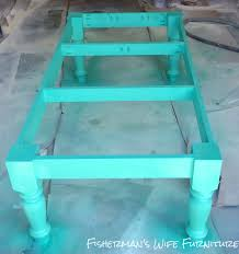 Bright Colored Coffee Tables Fishermans Wife Furniture Rustic Farmhouse Coffee Table