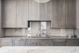 gray stained oak cabinets unbelievable kitchen trekkerboy home interior 27