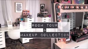 my beauty room tour makeup collection makeupbydenise