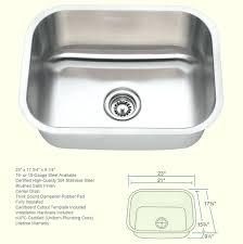 9 deep stainless steel kitchen sink gauge stainless steel single bowl sink medium 9 1 4