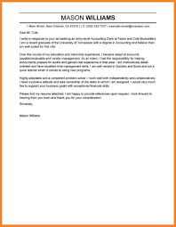 Cover Letter Accounting Bio Resume Samples