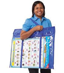 Teacher Chart Storage Deluxe Bulletin Board Storage Pocket Chart Storage