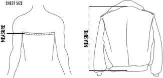 Jacket Length Chart Schott Jacket Sizing