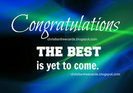 Christian Congratulations Quotes