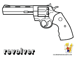 Gun Coloring Pages Gun Coloring Pages Best Gun Coloring Pages Images