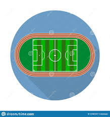 soccer field templates flat green field football grass soccer field with line template