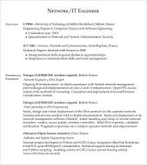 Control Systems Engineer Sample Resume Interesting 40 Beautiful Network Design Engineer Resume Screepics