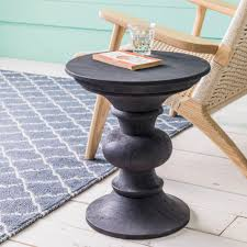 bailey round side table
