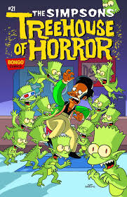 Treehouse Of Horror Series  Simpsons Wiki  FANDOM Powered By WikiaSimpsons Treehouse Of Horror 14