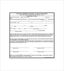 Boat Bill Of Sale Cool 44 Boat Bill Of Sale Free Sample Example Format Download Free