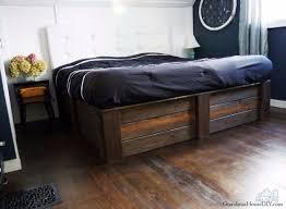 make your own platform bed. Wonderful Platform DIY Platform Beds  Build Your Own Bed Frame Easy Do It Yourself  On Make O