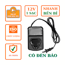 Sạc pin adapter máy khoan bắt vít dạng đế li-ion 12v 100-240vac 50/60hz, có  đèn báo, tự động ngắt khi pin đầy - Sắp xếp theo liên quan sản phẩm