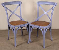 paint decorated wood dining chair size 3 0 x 2