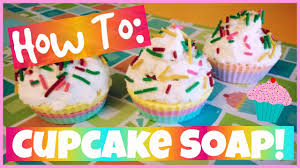 DIY: CUPCAKE SOAP - Easy, Cute - Melt + Pour How To ...
