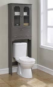 Features: -Elegant etagere with 2 glass doors, 1 adjustable shelf, 1 flip.  Over The Toilet CabinetBathroom Cabinets Over ToiletOver Toilet ...