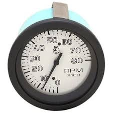 teleflex tachometer boat parts teleflex boat tachometer gauge 58001 inboard outboard 8000 rpm