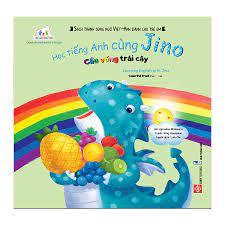 Học tiếng Anh cùng Jino - Learning English with Jino - Cầu vồng trái c –  DINHTIBOOKS