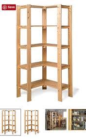 corner bookshelf diy kleinworth co