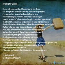 I Have A Dream Quotes Beauteous Finding My Dream I Have Quotes Writings By Rachele Chappell