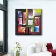 ART CONTEMPORAIN TABLEAU abstrait moderne peinture art déco murale ...