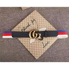 gucci 409416. gucci sylvie web belt with double g buckle blue 409416 t