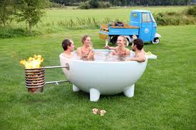 the iconic dutchtub wood burning outdoor hot tub gets an update outdoor hot tub b37