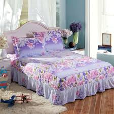 shabby chic sheet set simple style shabby chic bed skirt coverlet pillow cases sheet set of shabby chic sheet set