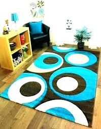 s blue brown cream area rug and teal