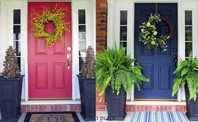 what color to paint front doorPicking the Right Front Door Color Before and After Case Studies